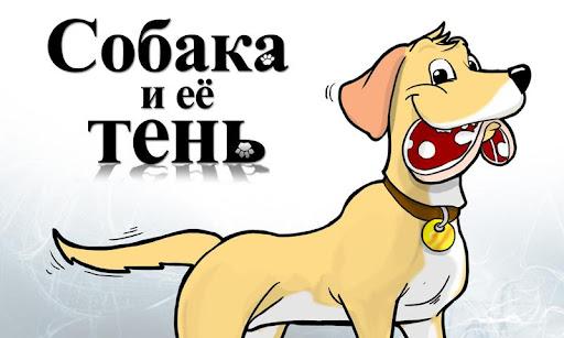 Собака и её тень