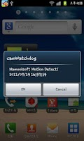 Screenshot of Free CCTV camWatchdog Lite
