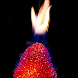 Red Hot by Pamela Vest - Food & Drink Fruits & Vegetables ( food, fire, sp 2014,  )