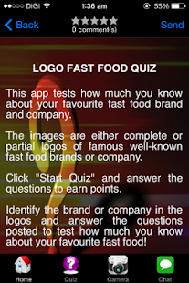 fast food quiz
