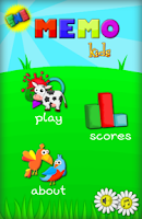 Screenshot of Memo Game - Kids learn English