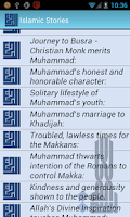 Screenshot of Islam Stories