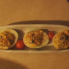 Deviled Eggs and the Kitchen Sink