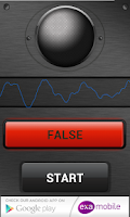 Screenshot of Voice Lie Detector Prank