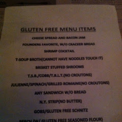 GF menu - posting it because I have been here twice and it's a production each time for them to loca