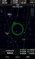 Screenshot of SkEye | Astronomy