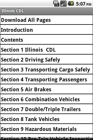 Illinois CDL Study Guide