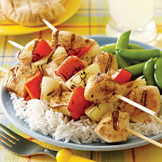 Yogurt-Marinated Chicken Kebabs