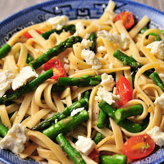 Pasta With Asparagus And Feta Cheese Recipes