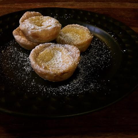 how to make custard tarts with custard powder