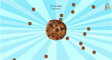 Screenshot of Cookie Clicker