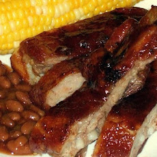 Dad's Mouth-Watering Barbecue Pork Ribs