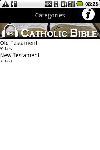 Audio Catholic Bible