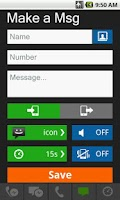 Screenshot of Fake Call & SMS