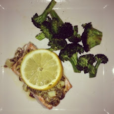 Garlic-Honey Dijon Salmon