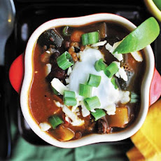 Smoky Chipotle Vegetarian Chili