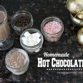 Homemade Hot Chocolate Mix (Original, Mexican, & Peppermint)