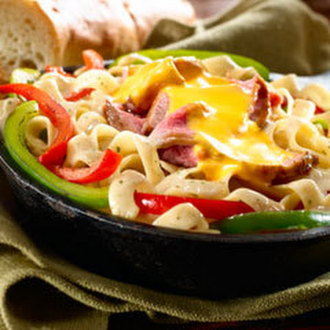 Philly Cheesesteak Skillet