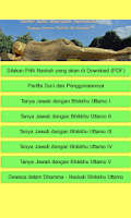 Screenshot of Dhammapada Indonesian Version