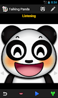 Screenshot of Talking Panda