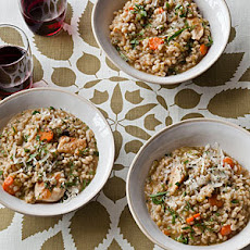 Chicken and Barley Stew with Dill and Lemon