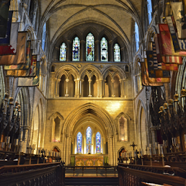 St. Patrick's Cathedral by Holly Lent - Buildings & Architecture Places of Worship ( flags, ireland, church, dublin, cathedral, st. patrick,  )