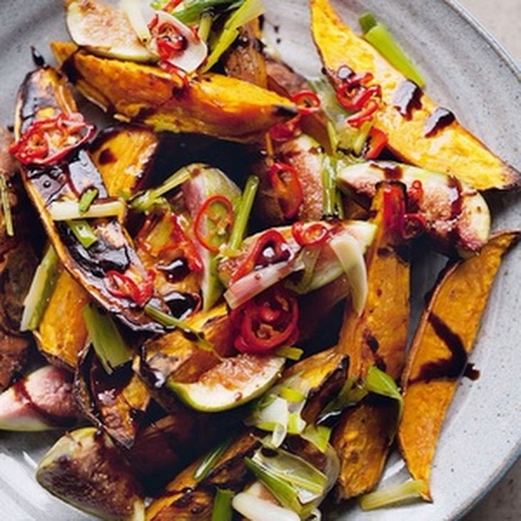 Roasted Sweet Potatoes And Fresh Figs Recipe | Yummly