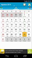 Screenshot of Indonesian Calendar 2015