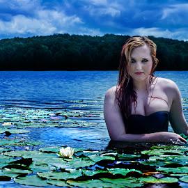 Scorpio by Tanya Hilliker - People Portraits of Women (  )