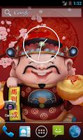 Screenshot of God Of Fortune 3D LWP - v2