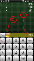 Screenshot of Calculator Calzo