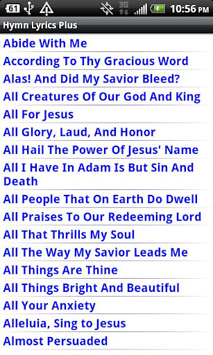 Hymn Lyrics Plus