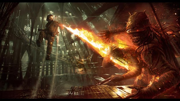 Concept art from LucasArts' cancelled Star Wars 1313 looks awesome