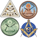 Freemasonry clock 12Packs