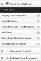 Screenshot of Türkiye Sorgu Ekranı