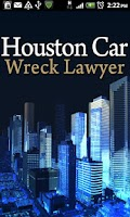 Screenshot of Houston Car Wreck Lawyer