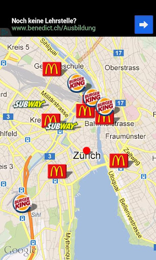 【免費生產應用App】Fastfood Schweiz-APP點子