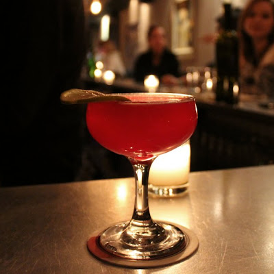 Beet-Infused Gin Cocktail