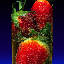 bubbling strawberries by Vernon Mata - Food & Drink Fruits & Vegetables