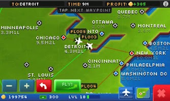 Screenshot of Pocket Planes