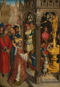 RIJKS: attributed to Aert van den Bossche: painting 1480