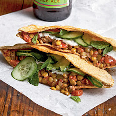 Sloppy Lentils in Pita