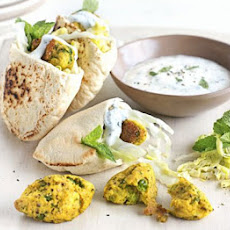 Pea Pakora Pockets