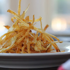 Baked Shoestring Potato Fries