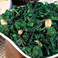 Broccoli Rabe with Melted Garlic