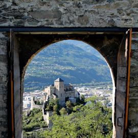 Door to Château de Valère, Sion - Swissland by Olteanu Daniel - Buildings & Architecture Public & Historical