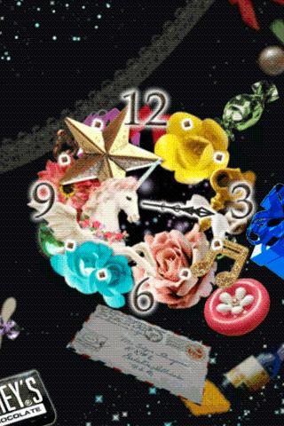 Unicorn Dream clockWidget