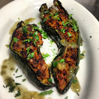 Baked Stuffed Poblano Peppers Recipes