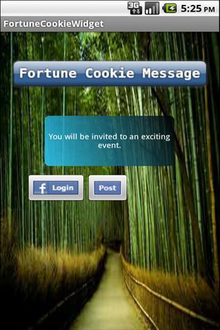 玩娛樂App|Fortune Cookie Widget Message免費|APP試玩