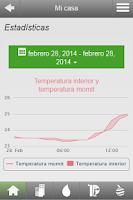 Screenshot of momit Smart Thermostat